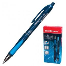 Ручка шариковая автоматическая ERICH KRAUSE Megapolis Concept, СИНЯЯ, корпус синий, узел 0,7 мм, линия письма 0,35 мм, 31