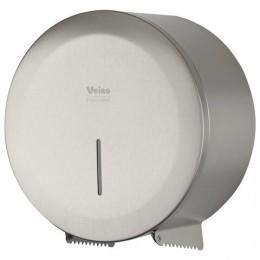 Диспенсер для туалетной бумаги в рулонах VEIRO Prof (T1/T2) Jumbo STEEL, нержавеющая сталь, матовый, PR2783CS