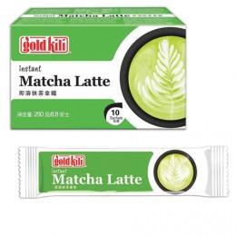 Матча Лаптте с имбирем быстрорастворимый Matcha Latte, 10 стиков по 25 г, GOLD KILI, 5110