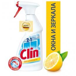 Средство для мытья стекол и зеркал 500 мл, CLIN (Клин) Лимон, распылитель, 2294288