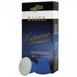 Капсулы для кофемашин NESPRESSO, Caprizzo, натуральный кофе, BLUES, 10 шт. х 5 г, 4600696301014