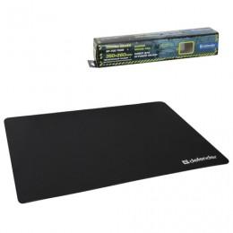 Коврик для мыши DEFENDER GP-700 Thor, полиуретан+лайкра, 350x260x3 мм, черный, 50070