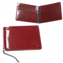 Зажим для купюр BEFLER Classic, натуральная кожа, тисненение, 120х86 мм, коньяк, Z.6.-1