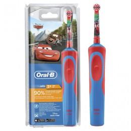 Зубная щетка электрическая детская ORAL-B (Орал-би) серия Тачки, 3+лет, D12.513K, ш/к 81026, 53019193