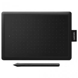 Планшет графический WACOM One S CTL-472-N, 2540LPI, 2048 уровней, А6(152x95), USB, черный
