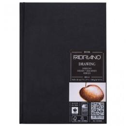 Блокнот для зарисовок FABRIANO Drawingbook мелкое зерно, 60л., 160г/м2, А5, 148x210мм, 19100009
