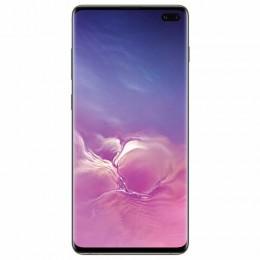 """Смартфон SAMSUNG Galaxy S10+, 2 SIM, 6,4"""", 4G (LTE), 16/10 + 8 + 12 + 12 Мп, 128 ГБ, черный, металл, SM-G975FCKDSER"""