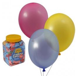 Шары воздушные 10 (25 см), комплект 200 шт., 14 цветов, в банке, 1110-0003