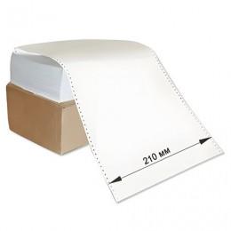 Бумага с неотрывной перфорацией, 210х305 мм (12), 1600 листов, плотность 65 г/м2, белизна 98%, STARLESS
