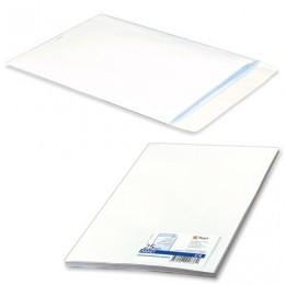 Конверт-пакет С4 плоский, комплект 25 шт., 229х324 мм, отрывная полоса, белый, на 90 листов, 124090.25