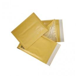 Конверт-пакет с прослойкой из пузырчатой пленки, комплект 10 шт., 150х210 мм, отрывная полоса, крафт-бумага, коричневый, С/0-G.10