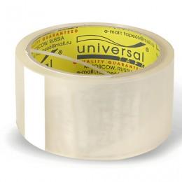Клейкая лента 48 мм х 40 м, потребительская, UNIVERSAL, прозрачная, 50//66 пр