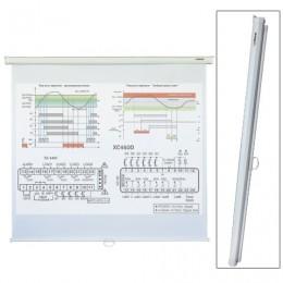 Экран проекционный LUMIEN ECO PICTURE, матовый, настенный, 150х150 см, 1:1, LEP-100101