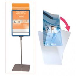 Экран защитный для рамки POS БОЛЬШОГО ФОРМАТА, А3 (код 290254, 290255, 290256, 290257), прозрачный, 290263