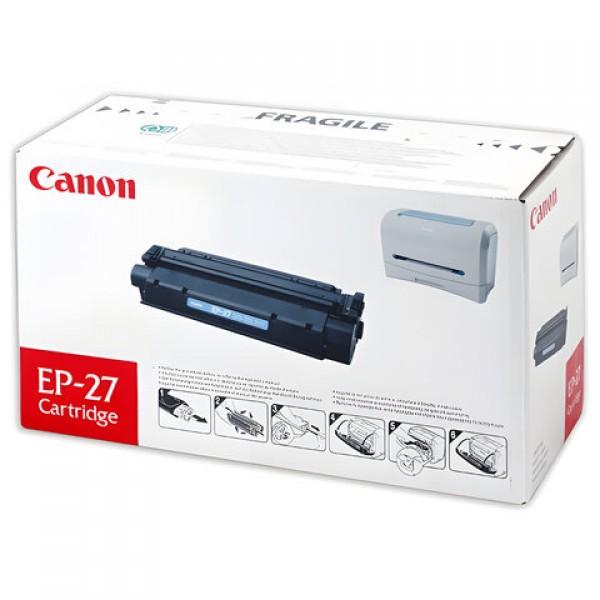 Картридж лазерный CANON (EP-27) LBP-3200/MF3228/3240/5730, ресурс 2500 страниц, оригинальный, 8489A002