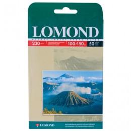 Фотобумага для струйной печати, 10х15 см, 230 г/м2, 50 листов, односторонняя глянцевая, LOMOND 0102035