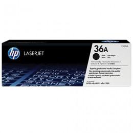 Картридж лазерный HP (CB436A) LaserJet P1505/M1120/M1522, №36А, оригинальный, ресурс 2000 стр.