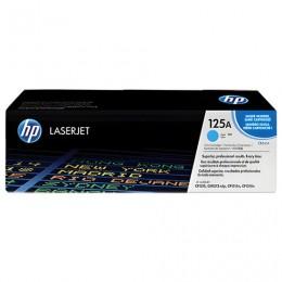 Картридж лазерный HP (CB541A) ColorLaserJet CP1215/CP1515N/CM1312, голубой, оригинальный, 1400 страниц