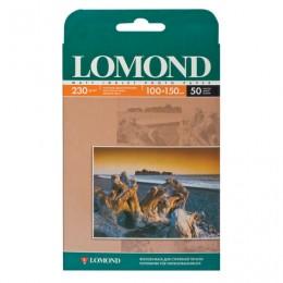 Фотобумага для струйной печати, 10х15 см, 230 г/м2, 50 листов, односторонняя матовая, LOMOND, 0102034