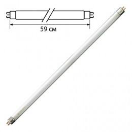 Лампа люминесцентная OSRAM L18/640, 18 Вт, цоколь G13, в виде трубки, длина 59 см, хол. белый свет