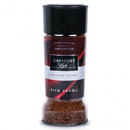 Кофе растворимый DAVIDOFF Rich Aroma, гранулированный, премиум-класса, 100 г, стеклянная банка