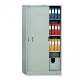 Шкаф металлический офисный купе ПРАКТИК