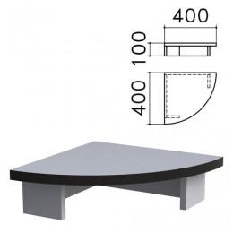 Подставка под монитор Монолит, 400х400х100 мм, цвет серый, ПМ03.11