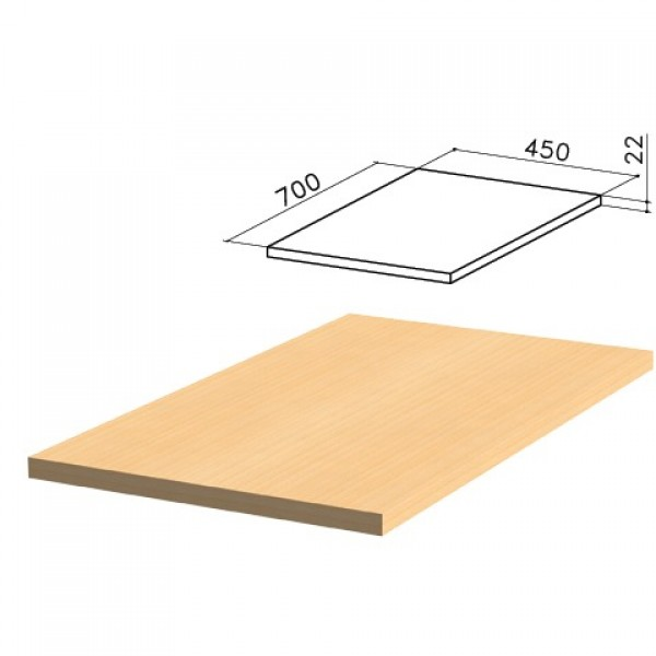 Крышка для тумбы приставной (код 640144, 640147)