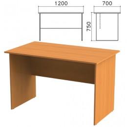Стол письменный Фея, 1200х700х750 мм, цвет орех милан, СФ03.5