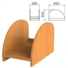 Подставка под системный блок Фея, цвет орех милан, ПФ11.5