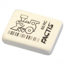 Резинка стирательная FACTIS 60 RC (Испания), прямоугольная, 32х24х7 мм, мягкая, синтетический каучук, CNF60RC