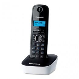 Радиотелефон PANASONIC KX-TG1611RUW, память 50 номеров, АОН, повтор, часы/будильник, белый