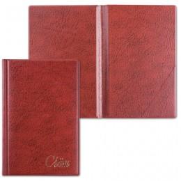 Папка Счет, 125х190 мм, коричневая, ДПС, 2127.С-104