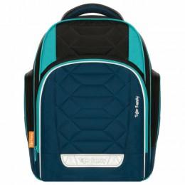 Рюкзак TIGER FAMILY школьный, Rainbow, с ортопедической спинкой, Polar Ice, 39х31х20 см, 228938, TGRW-009A