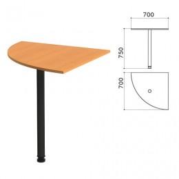 Стол приставной угловой