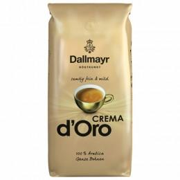 Кофе в зернах DALLMAYR (Даллмайер) Crema d`Oro, арабика 100%, 1000г, вакуумная упаковка, ш/к 52729, 527000000