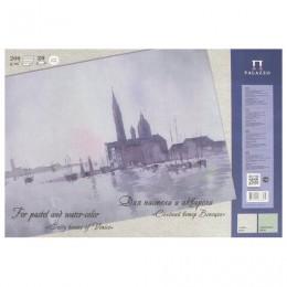 Папка для пастели и акварели/планшет А3, 20 листов, 2 цвета, 200 г/м2, тонированная бумага, Венеция, ПЛ-6457