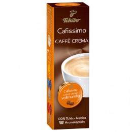 Капсулы для кофемашин Cafissimo TCHIBO Caffe Crema Vollmundig, натуральный кофе, 10 шт. х 8 г, EPCFTCCC0008K