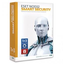 Антивирус ESET NOD32 Smart Security+Bonus, 3 ПК, 1 год или продление на 20 месяцев, ESS-1220BOX-1-1