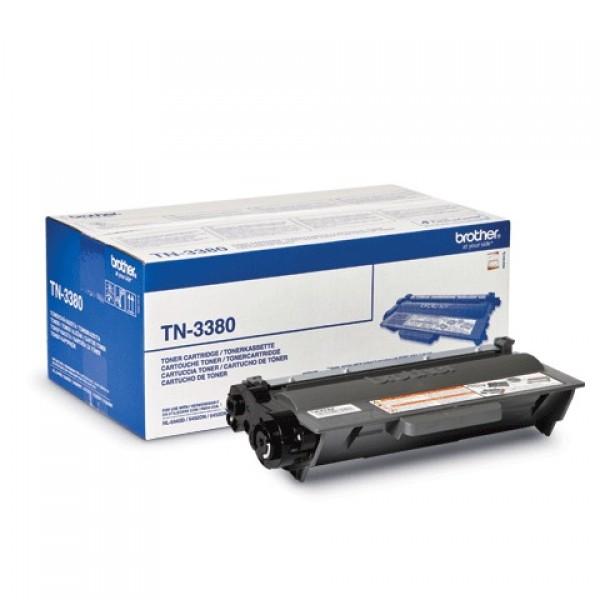 Картридж лазерный BROTHER (TN3380) HL-5450DNR/5470DWR/DCP-8110DN и др., оригинал., ресурс 8000 стр.