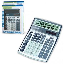 Калькулятор CITIZEN настольный CCC-112WB, 12 разрядов, двойное питание, 207x155 мм, ССC-112