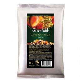 Чай GREENFIELD (Гринфилд) Caribbean Fruit, фруктовый, манго/ананас, листовой, 250 г, пакет, 1144-15