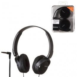 Наушники SONY MDR-ZX110, проводные, 1,2 м, стерео, полноразмерные с оголовьем, черные, MDRZX110B.AE
