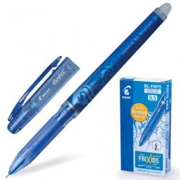 Ручка стираемая гелевая PILOT Frixion Point, СИНЯЯ, игольчатый узел 0,5 мм, линия письма 0,25 мм, BL-FRP-5