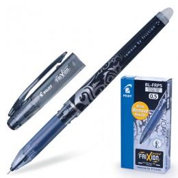 Ручка стираемая гелевая PILOT Frixion Point, ЧЕРНАЯ, игольчатый узел 0,5 мм, линия письма 0,25 мм