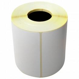 Этикетка термотрансферная ПОЛИПРОПИЛЕНОВАЯ (100х72 мм), 500 этикеток в ролике, 53082