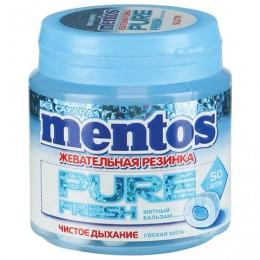 Жевательная резинка MENTOS Pure Fresh (Ментос) Свежая мята, 100 г, банка, 20798