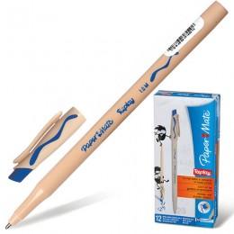 Ручка стираемая шариковая PAPER MATE Replay, СИНЯЯ, корпус бежевый, узел 1,2 мм, линия письма 1 мм, S0190824