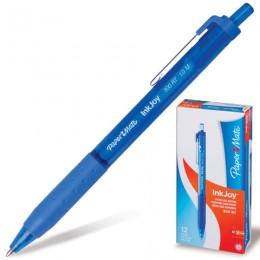 Ручка шариковая автоматическая PAPER MATE Inkjoy 300 RT, СИНЯЯ, узел 1,2 мм, линия письма 1 мм, S0959920