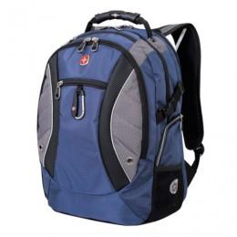 Рюкзак WENGER, универсальный, сине-серый,